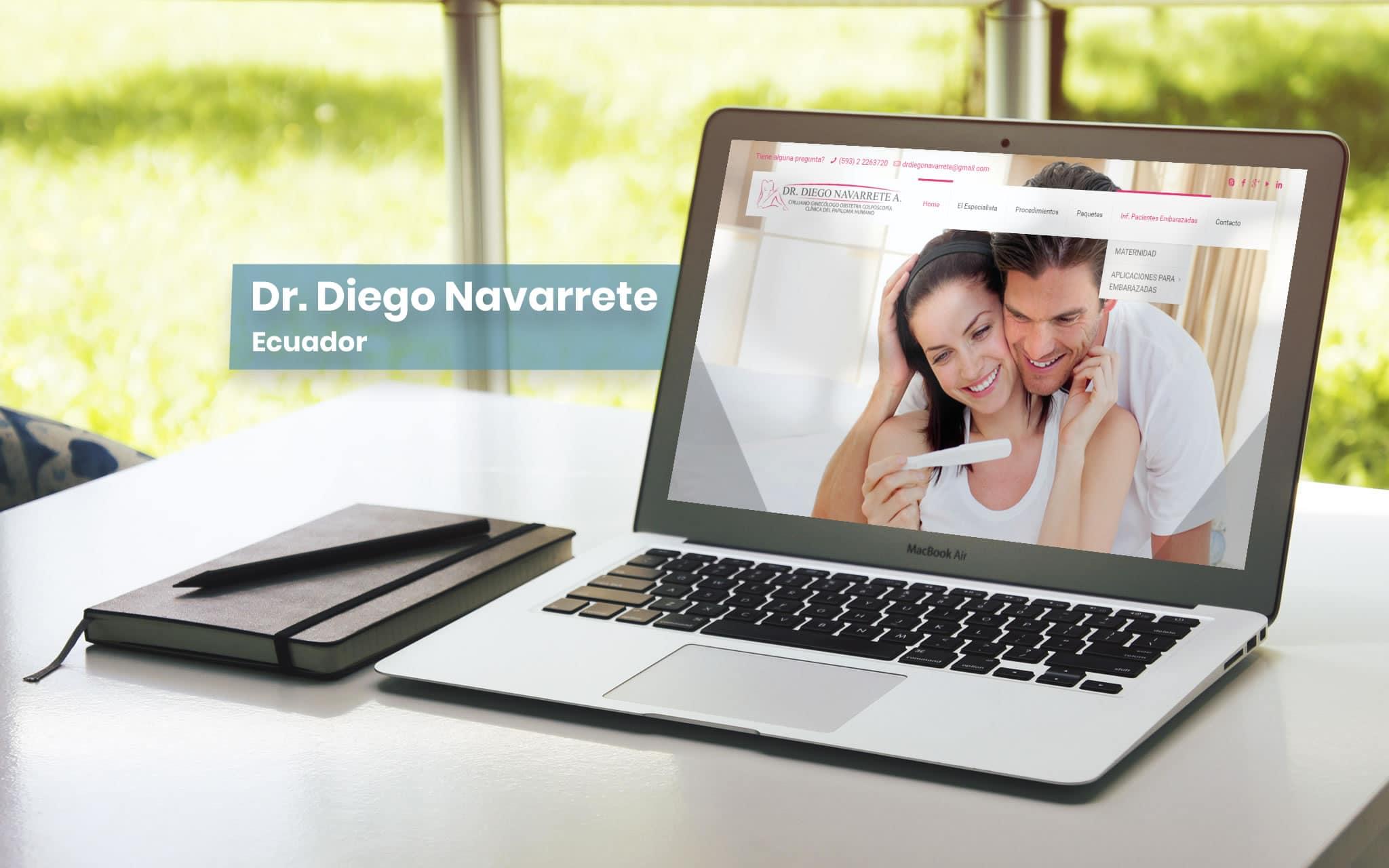 Dr. Diego Navarrete - Ecuador